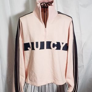 Juicy Couture Racer Terry Pullover NWT